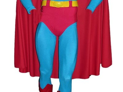 THE ACTUAL COSTUME CHRISTOPHER REEVE WORE IN THE FIRST 2 SUPERMAN MOVIES WILL BE PART OF HOLLYWOOD AUCTION EXTRAVAGANZA XLII, JUNE 11