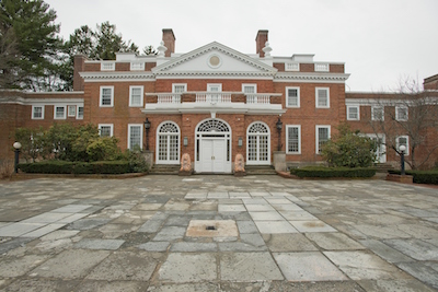 The 12,000-square-foot, 30-room Georgian mansion known as Seven Pines on Boston's North Shore will be sold in Session I, July 1st, at 3 pm Eastern time.