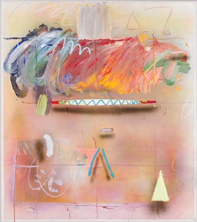 "James Havard, Untitled, ""To Susan, Love James,"" acrylic on canvas, Estimate $5,000-7,000"