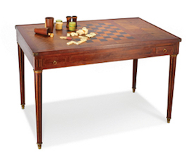 Game table to sell in July 16 Selkirk Auction (St. Louis, MO)