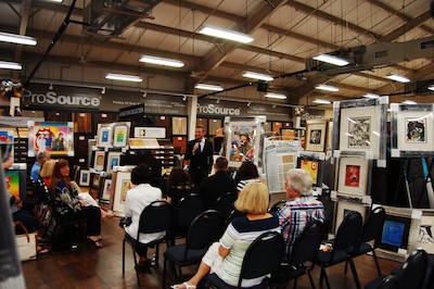 Jacksonville Art Auction Offers A Unique Date Night Experience