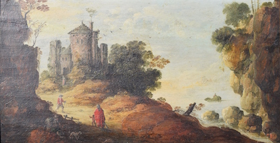 17th CENTURY OIL ON BOARD PAINTING BY THE DUTCH ARTIST JAN VAN GOYEN (1596-1656) IS EXPECTED TO BRING $40,000-$60,000 AT AUCTION LIFE ON OCT. 16th