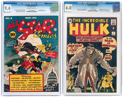 Hake S Nov 15 17 Auction Features 2 000 Comic Books 500 Lots Of