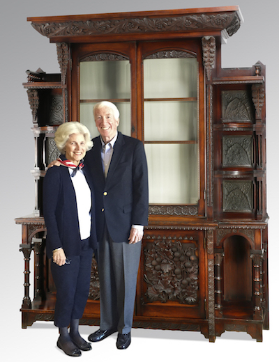 A 'Tour de Force' Cincinnati Art Carved Cabinet Becomes a Family Affair