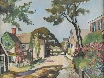 ARTWORKS FROM THE ESTATE OF CHRISTIAN BUCHHEIT (1885-1974), FORMER BUILDING SUPERINTENDENT FOR THE ART STUDENTS LEAGUE IN NEW YORK, WILL HEADLINE BURCHARD GALLERIES' NEXT BIG AUCTION, NOV. 12th & 13th