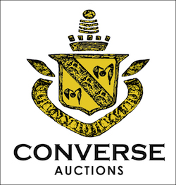 CONVERSE AUCTIONS IS RINGING OUT THE YEAR IN GRAND STYLE, WITH A NEW NAME, A NEW OWNER AND AN IMPORTANT ONLINE CHINESE AUCTION, DEC. 30th