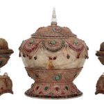 A RARE 18th CENTURY ENGLISH-MADE PAGODA FORM AUTOMATON MUSICAL CLOCK IS EXPECTED TO HIT $800,000-$1.2 MILLION AT FONTAINE'S ON JAN. 21st