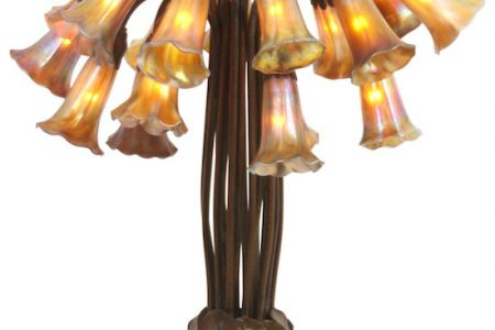 A MULTITUDE OF RARE & BEAUTIFUL ITEMS INCLUDING A TIFFANY STUDIOS 18-LIGHT LILY LAMP, A GUSTAV BECKER ASTRONOMICAL FLOOR REGULATOR AND A MARBLE SCULPTURE BY PASQUALE ROMANELLI WILL COME UP FOR BID SEPT. 9 AT FONTAINE'S ANTIQUES & FINE ART AUCTION