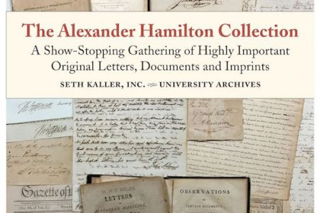 BITTER RIVALRY BETWEEN ALEXANDER HAMILTON AND THOMAS JEFFERSON TO BE EXPLORED IN A 'FLASH' EXHIBIT THIS SUNDAY, SEPTEMBER 10th