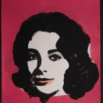 PAINTINGS ON PAPER ATTRIBUTED TO ANDY WARHOL OF ELIZABETH TAYLOR AND OTHER FIGURES WILL BE OFFERED OCT. 4th BY WOODSHED ART AUCTIONS