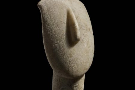 A LARGE CYCLADIC MARBLE HEAD FROM 2,500 BC SOARS TO $188,800 AND AN ALEXANDER CALDER STABILE HITS $153,400 AT COTTONE AUCTIONS, SEPT. 22-23