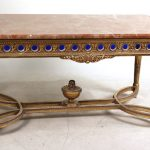 FRENCH PERIOD FURNITURE AND DECORATIVE ITEMS, AMERICAN AESTHETIC MOVEMENT PIECES AND ITEMS TO BENEFIT GREENWWOOD GARDENS IN NEW JERSEY WILL BE SOLD BY NYE & COMPANY AUCTIONEERS