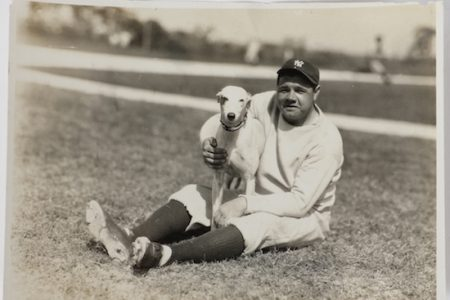 NEVER-BEFORE-SEEN TYPE 1 ORIGINAL PHOTOGRAPHS OF BABE RUTH AND JIM THORPE WILL COME UP FOR BID ON SATURDAY, DEC. 2nd, AT RIPLEY AUCTIONS