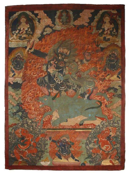 Tibetan Buddhist thangka