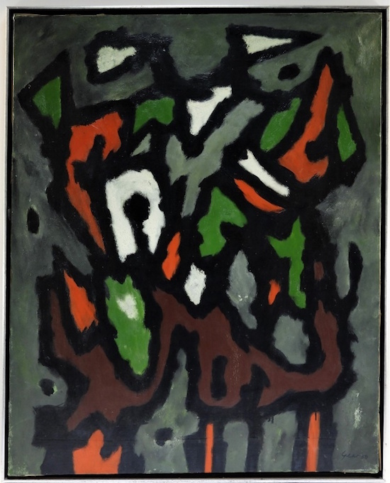 abstract modernist William Gear