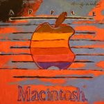 A GOUACHE ON PAPER OF THE ICONIC MACINTOSH APPLE LOGO ATTRIBUTED TO ANDY WARHOL WILL HEADLINE WOODSHED ART AUCTIONS' FEBRUARY 1st SALE