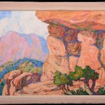 FOUR ORIGINAL OIL PAINTINGS BY BIRGER SANDZEN AND A WIDE ASSORTMENT OF ART GLASS AND ANTIQUES WILL HEADLINE WOODY AUCTION'S FEB. 24th AUCTION