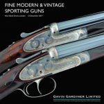 GAVIN GARDINER LTD AUCTION OF MODERN & VINTAGE SPORTING GUNS & RIFLES REFLECTS THE STUNNING CRAFTSMANSHIP OF TODAY'S UK GUNMAKERS