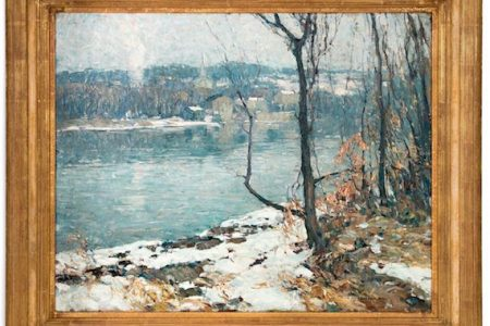 PAINTING BY NEW HOPE ARTIST JOHN FOLINSBEE BRINGS $165,200 AT AHLERS & OGLETREE'S SIGNATURE ESTATES AUCTION HELD JAN. 6th and 7th IN ATLANTA