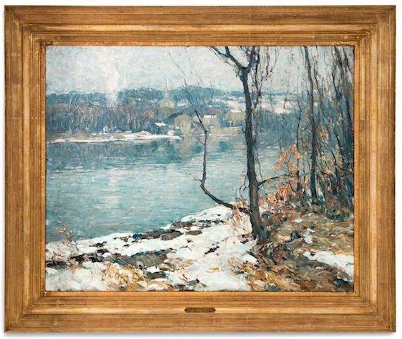 John Folinsbee oil painting
