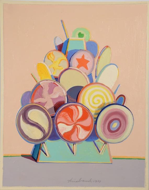 Wayne Thiebaud Lollipop Tree