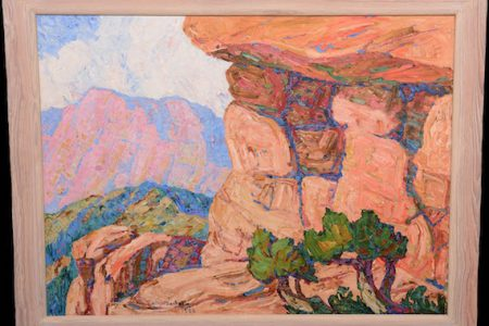 FOUR OIL PAINTINGS BY BIRGER SANDZEN (1871-1946) SELL FOR A COMBINED $371,000 AT WOODY AUCTION'S GRAND OPENING SALE IN THEIR NEW GALLERY, FEBRUARY 24th