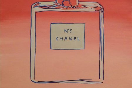 THREE ARTWORKS ATTRIBUTED TO POP ART ICON ANDY WARHOL, DEPICTING CHANEL No. 5, ABSOLUT VODKA AND ELVIS, HAMMER FOR A COMBINED $50,400