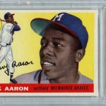 IMPORTANT COLLECTIONS OF HIGH-GRADE SANDY KOUFAX AND HANK AARON BASEBALL CARDS CO-HEADLINE SMALL TRADITIONS ONLINE AUCTION, MAY 5th