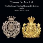 BIGGEST SINGLE-OWNER COLLECTION OF CAP BADGES TO BE OFFERED AT AUCTION BY THOMAS DEL MAR LTD