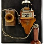 ITEMS FROM 2 CHAPTERS OF THE TELEPHONE PIONEERS OF AMERICA MUSEUM RING THE BELL WITH BIDDERS AT BRUNEAU & CO.'S AUCTION