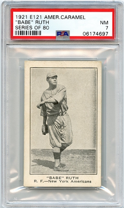 1921 Babe Ruth Baseball Card Could Exceed Six Figures In