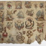 SIX ORIGINAL TATTOO FLASH ART SHEETS ATTRIBUTED TO CHARLIE WAGNER AND SAM O'REILLY BRING A COMBINED $41,375 AT RIPLEY AUCTIONS, JULY 28th