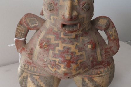 HELM AUCTION, INC.'s ONLINE-ONLY HOLIDAZE! AUCTION, DECEMBER 1st, WILL HAVE OVER 550 LOTS OF NATIVE AMERICAN, PRE-COLUMBIAN, OIL PAINTINGS, OCEANIC, AFRICAN AND ASIAN TRIBAL ARTIFACTS AND MORE