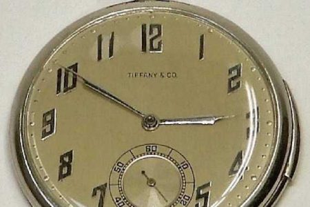 1920 TIFFANY & CO. POCKET WATCH SELLS FOR $12,500, AND A 2003 U.S. $25 GOLD EAGLE COIN BRINGS A RECORD $4,688, AT BRUNEAU & CO., NOV. 24th