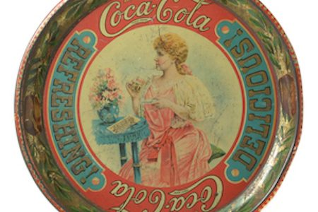 Original Coca-Cola Memorabilia Headlines  Michaan's February Collectibles and Ephemera Memorabilia Sale