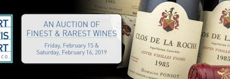Hart Davis Hart Wine Co to Auction the Collections of David S. Utterberg, Johnson Ho, and Josue V. Harari