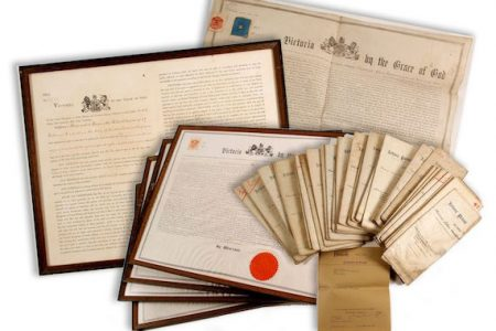 EDISON-SWAN BRITISH PATENT ARCHIVE FOR INCANDESCENT LIGHTING BRINGS $5,000, AND A GROUP OF THREE .999+ FINE SILVER INGOTS REALIZES $6,800, AT A TREASURES GALORE AUCTION BY HOLABIRD WESTERN AMERICANA