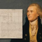 HANDWRITTEN LETTERS SIGNED BY THOMAS JEFFERSON, JEFFERSON DAVIS & DAVY CROCKETT, PLUS A PATENT DOCUMENT SIGNED BY ALBERT EINSTEIN, WILL BE PART OF UNIVERSITY ARCHIVES ONLINE-ONLY AUCTION
