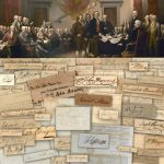 ITEMS SIGNED BY ALL BUT ONE OF THE 56 SIGNERS OF THE DECLARATION OF INDEPENDENCE TO BE SOLD INDIVIDUALLY BY UNIVERSITY ARCHIVES