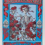 MUSEUM-QUALITY GRATEFUL DEAD SKELETON AND ROSES FD-26 CONCERT POSTER IS UP FOR BID IN PSYCHEDELIC ART EXCHANGE'S ONLINE AUCTION