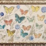 NEO-EXPRESSIONIST PAINTING BY HUNT SLONEM, TITLED BUTTERFLY'S, BRINGS $15,000 AT BRUNEAU & CO AUCTION