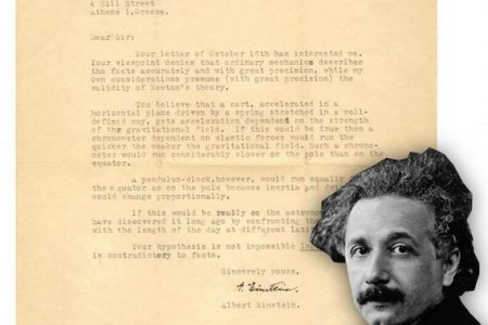 UNIVERSITY ARCHIVES ONLINE-ONLY AUCTION WILL FEATURE ITEMS SIGNED BY ALBERT EINSTEIN, JOHN HANCOCK, THOMAS JEFFERSON & OTHERS