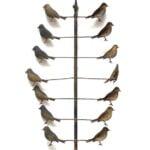GARDEN BIRD WHIRLIGIG YARD ORNAMENT PROVES THAT LITTLE BIRDS CAN BRING BIG SURPRISES AT NEUE AUCTIONS SUMMER SALE
