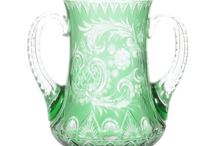 COLLECTION OF AMERICAN BRILLIANT CUT GLASS FROM WILLIAM BUSCHLING TO BE AUCTIONED BY WOODY AUCTION