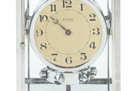 FRENCH ATMOS PERPETUAL TIME CLOCK MAKES CA$6,490 IN MILLER & MILLER'S CANADIANA AND HISTORIC OBJECTS AUCTION