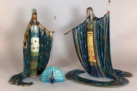 SCULPTURES AND WORKS ON PAPER FROM THE RENOWNED ARTISTS ERTE AND LOUIS ICART WILL BE OFFERED IN NEUE AUCTIONS ONLINE AUCTION