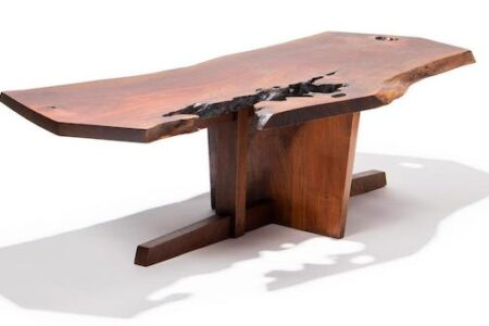 FURNITURE BY GEORGE NAKASHIMA AND A SCULPTURE BY ARNALDO POMODORO TO HEADLINE AHLERS & OGLETREE'S AUCTION