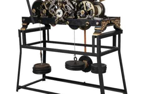 CLOCKS FROM CANADA, THE U.S. AND EUROPE DOMINATE TOP LOTS IN MILLER & MILLER'S MUSIC MACHINES, CLOCKS & CANADIANA AUCTION