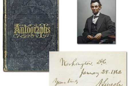 ITEMS SIGNED OR INSCRIBED BY LINCOLN, NEWTON, LENIN, EINSTEIN & MANY OTHERS WILL BE OFFERED BY UNIVERSITY ARCHIVES