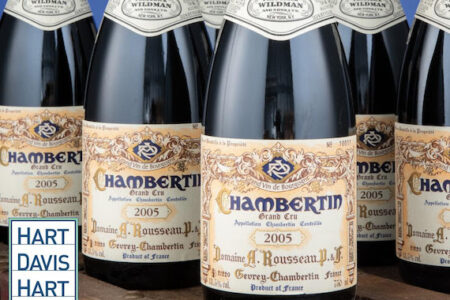 Market Shows Continued Strength as Hart Davis Hart June Wine Auction Brings in $7.1 Million